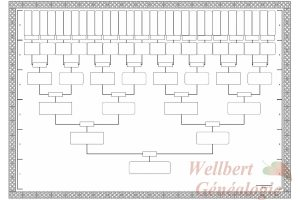 printable family tree printable family tree template generations empty to fill in oneself
