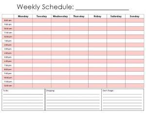 printable hourly schedule weekly calendar by hour printable hourly daily calendar template kvhsro