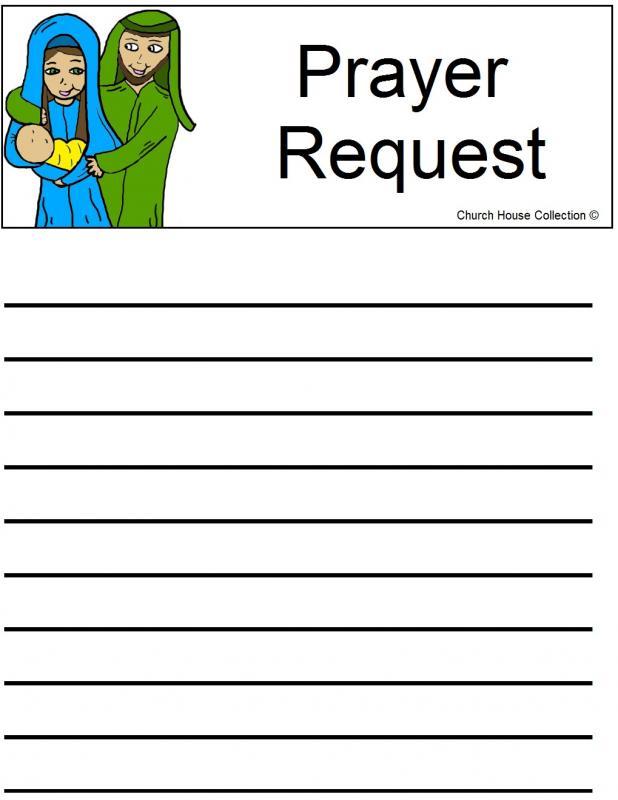 printable prayer list