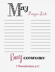 printable prayer list reso may prayer list