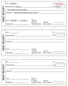printable receipt template printable rent receipt