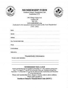 printable registration form template membership application mar std