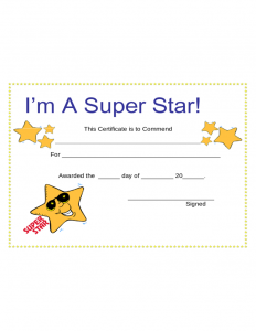 printable registration form template star award certificate template l