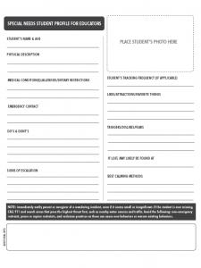 printable registration form template student profile template d