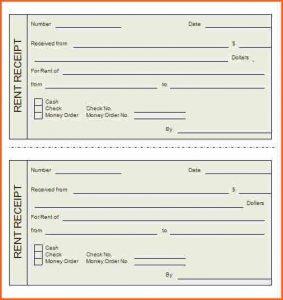 printable rent receipt printable rent receipt rent receipt template