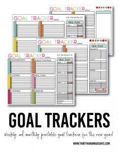 printable weekly time sheets goaltrackersdaysblog