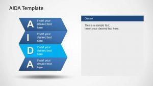 product comparison template aida model template