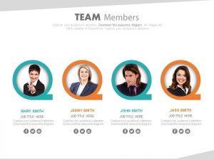 product strategy template team members for team strategy formation powerpoint slide slide