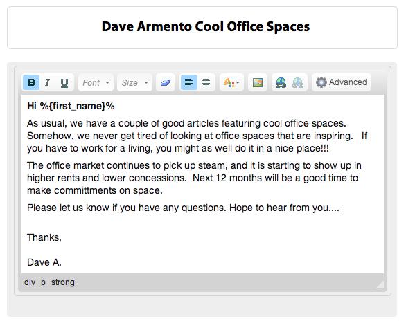 professional email signature student