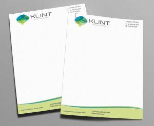 professional letterhead template image