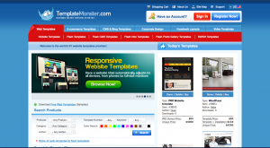 professional website templates picture
