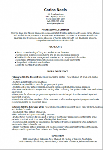 progress note template for mental health counselors drug and alcohol counselor