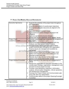 project charter sample download sample implementation project charter