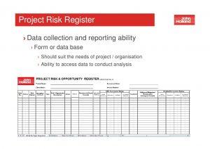 project estimate template workshop project risk management june