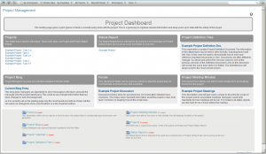 project management forms project management landing page