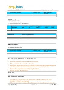 project outline template project management plan template