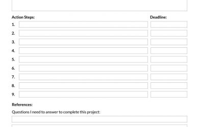 project plan template word project planning template