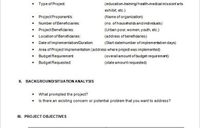 project proposal example project proposal format
