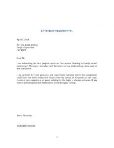 project report sample succession planning fyp