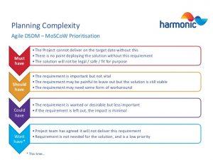 project scope template complex project management