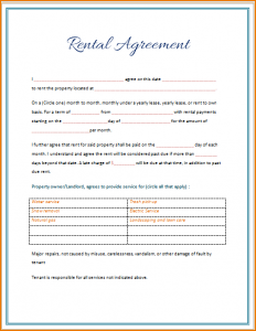 promissory note templates word rental lease agreement template word rental agreement template