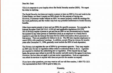 proof of income letter proof of income letter ssa letter