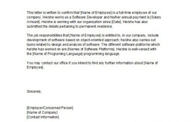 proof of income self employed proof of employment letter
