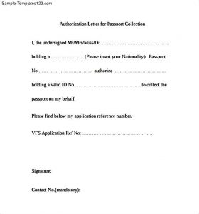 proof of residency letter template pdf authorization letter for passport collection