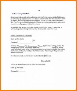 proof of residency letter template pdf notary sign template notarized letter template