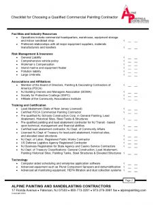 property inspection checklist page