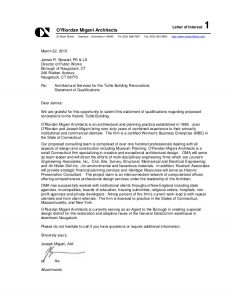 proposal letter template sample oma rfq submission