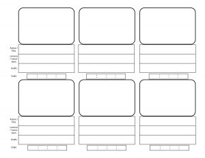 proposal outline template storyboard