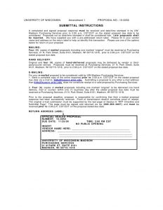 proposal writing example vendor net transmission cover letter