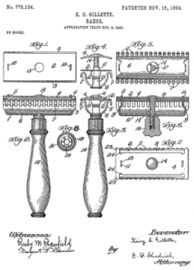 provisional patent application example px gillette razor patent