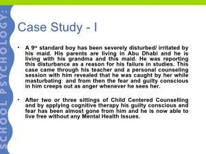 Psychology Case Study Examples | Template Business