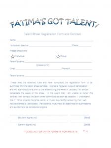 publisher calendar templates sample registration form for talent show d