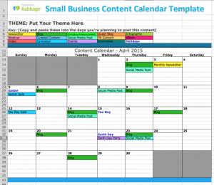publisher calendar templates small business content calendar template