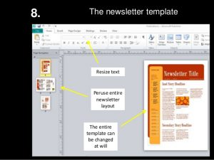 publisher newsletter templates ms publisher how to create a newsletter