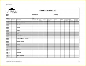 punch list template construction project punch list template to do list template regarding construction punch list template