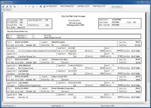 purchase order example assembly build order report