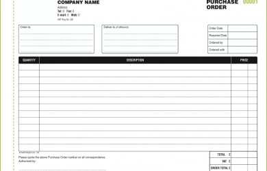 purchase order template 030 purchase order2 a4 book