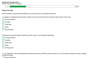 questionnaires templates word healthcare questionnaire template
