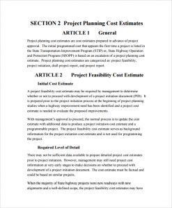 real estate business plan template project estimate proposal template