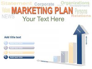 real estate business plan template slide