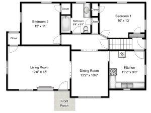 real estate marketing plan floor plans real estate marketing south bend realty photo