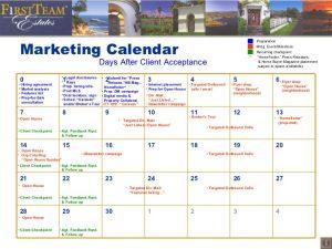 real estate marketing plan template retail marketing calendar template sample real estate agent listing presentation ecztms