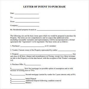 real estate offer letter template free letter of intent real estate