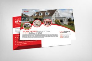 real estate postcard templates real estate postcard template