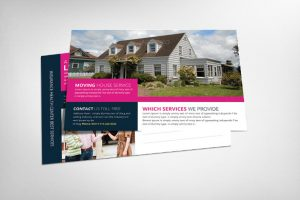 real estate postcard templates real estate postcard template for individal building