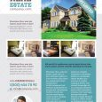 real estate templates real estate flyer templates